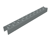 Leitersprossenprofil 35x30x2 mm