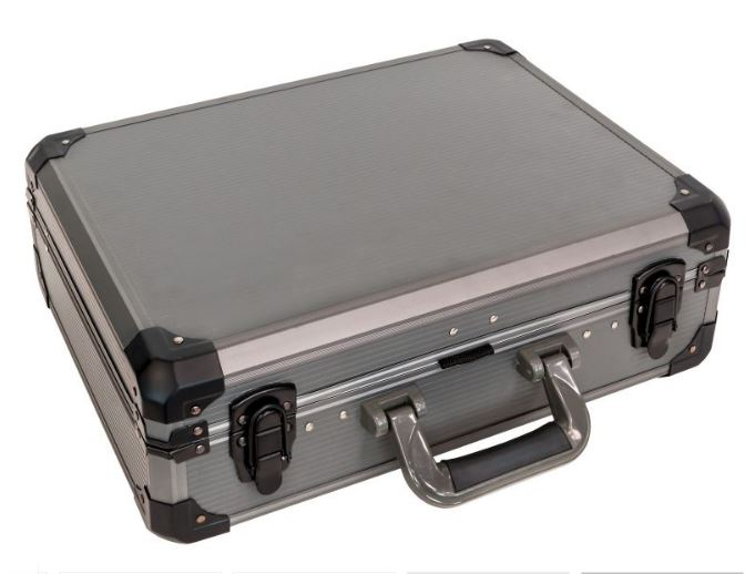 Airpress Werkzeugkoffer aus Alu 127-teilig