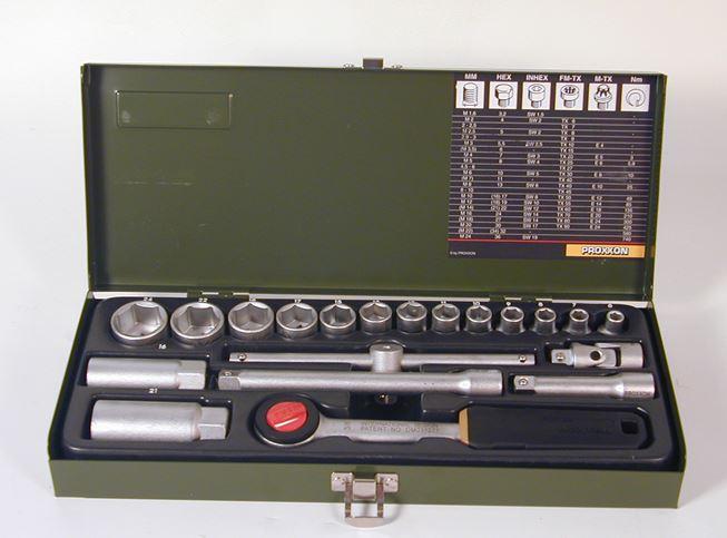 """PROXXON Steckschlüsselsatz 3/8"""" 24-teilig"""
