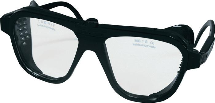 Nylon-Schutzbrille mit Seitenblenden