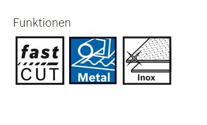 Bosch Trennscheibe X-LOCK 125 mm METALL/INOX