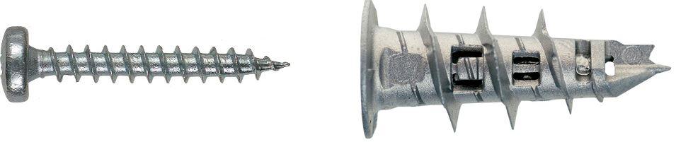 Mungo MJP32-S Jet Plug Metall 32 mm mit Pan Head Schraube Pozi 2 18010224