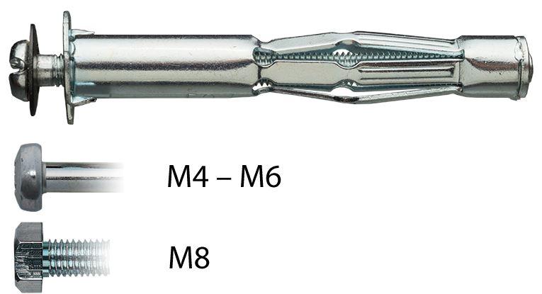 Mungo MHD-S Hohlraumdübel 1870140
