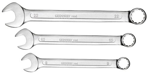 GEDORE RED Gabel-Ringschlüsselsatz 21-teilig 6-32 mm