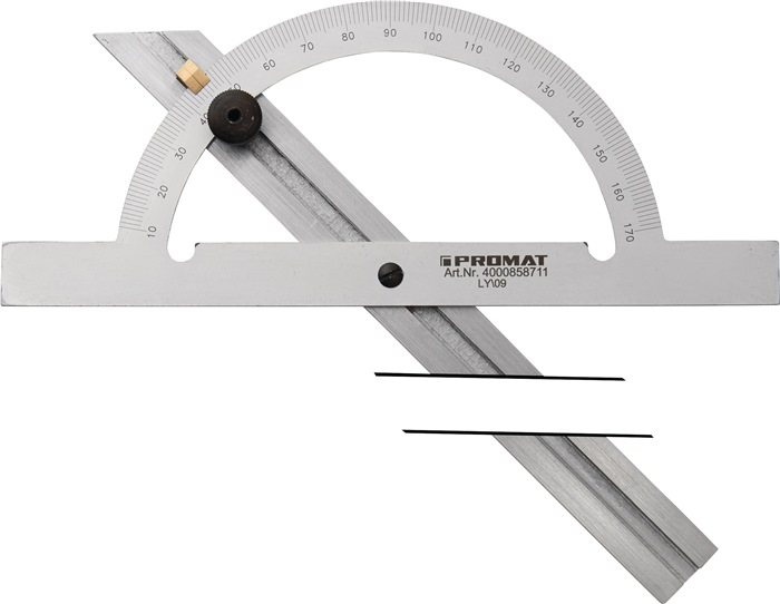 Winkelmesser - Gradmesser 10-170° Stahl